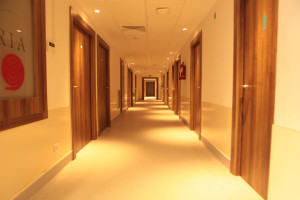 Aesthetic Clinic : hallway